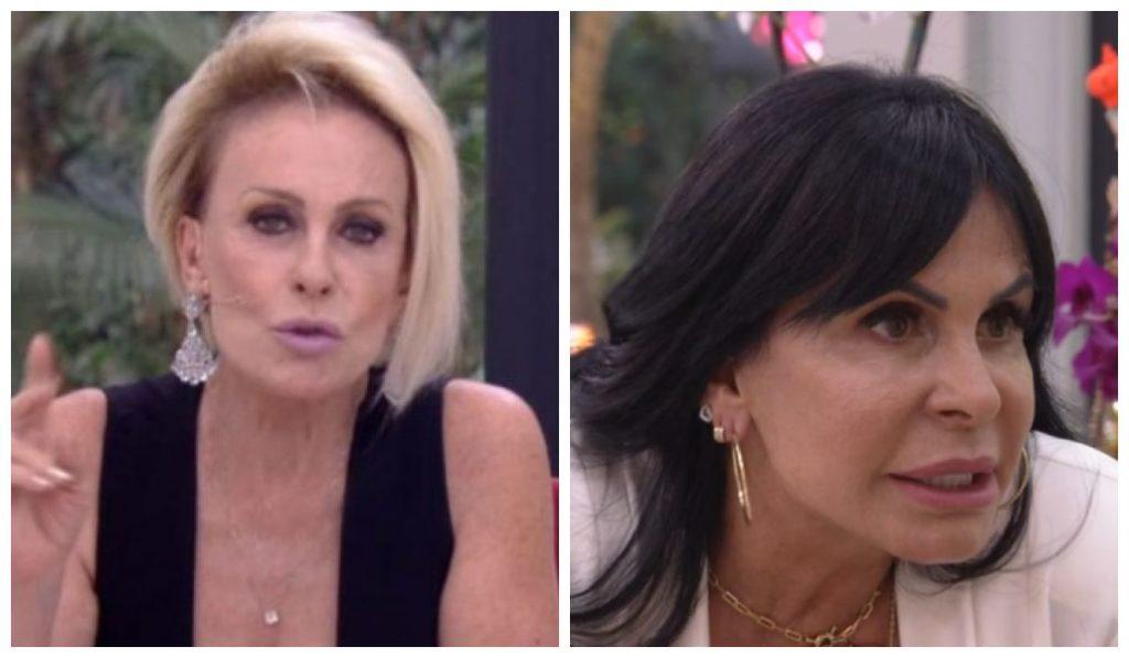 Gretchen e Ana Maria Braga no Mais Você (Foto: Reprodução)