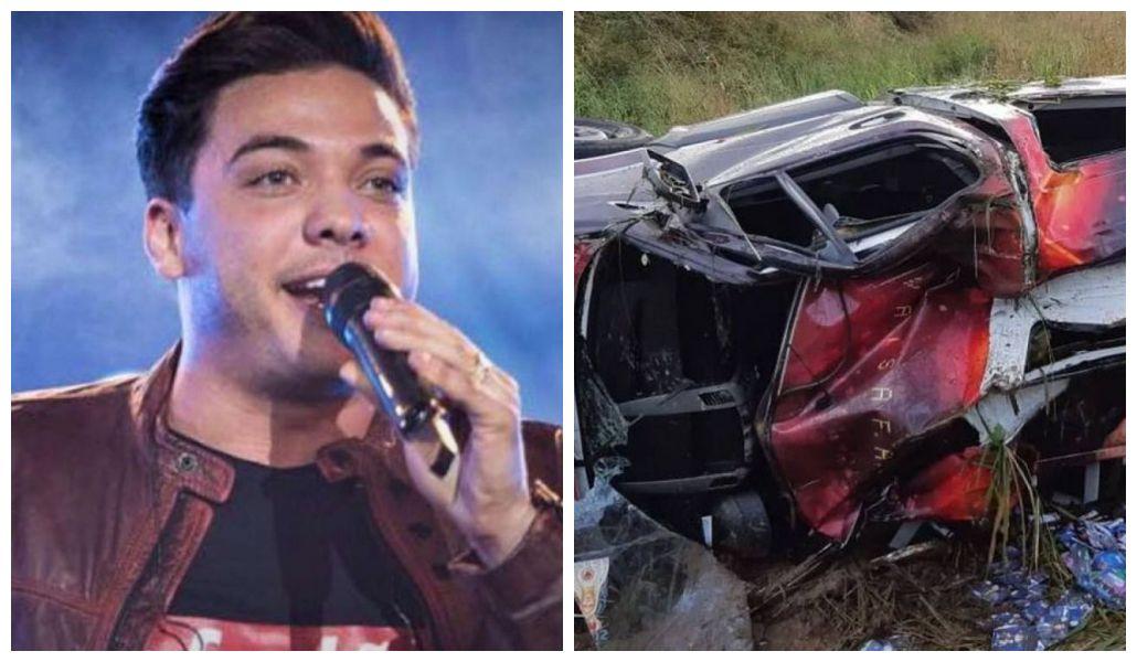Carro de Wesley Safadão se envolve em gravíssimo acidente (Foto: Reprodução)