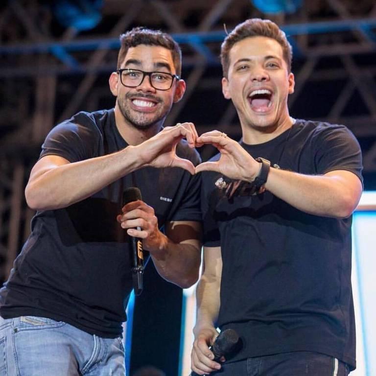 Wesley Safadão e Gabriel Diniz eram tido como grandes amigos (Foto: Reprodução)