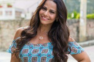 Atriz da Globo, Viviane Araújo (Foto: Reprodução)