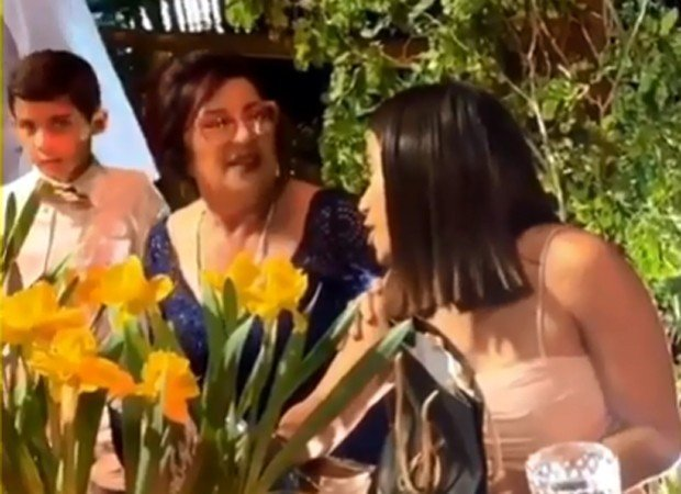 A cantora Anitta no casamento de Carlinhos Maia (Foto: Divulgação)