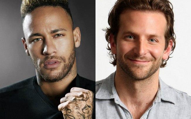 Neymar se compara a Bradley Cooper (Foto: Reprodução)