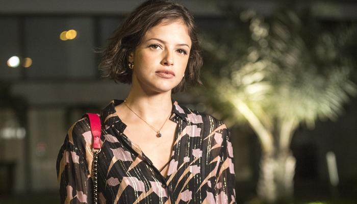 Agatha Moreira (Josiane) em A Dona do Pedaço (Foto: Globo/João Miguel Júnior)