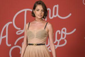 Agatha Moreira no lançamento de A Dona do Pedaço (Foto: Globo/Estevam Avellar)