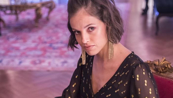 Josiane (Agatha Moreira) em A Dona do Pedaço (Foto: Globo/João Miguel Júnior)
