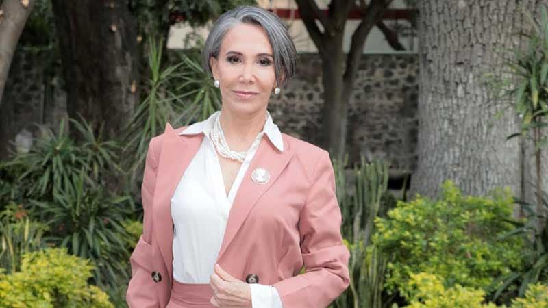 A atriz Florinda Meza, intérprete da Dona Florinda (Foto: Reprodução)