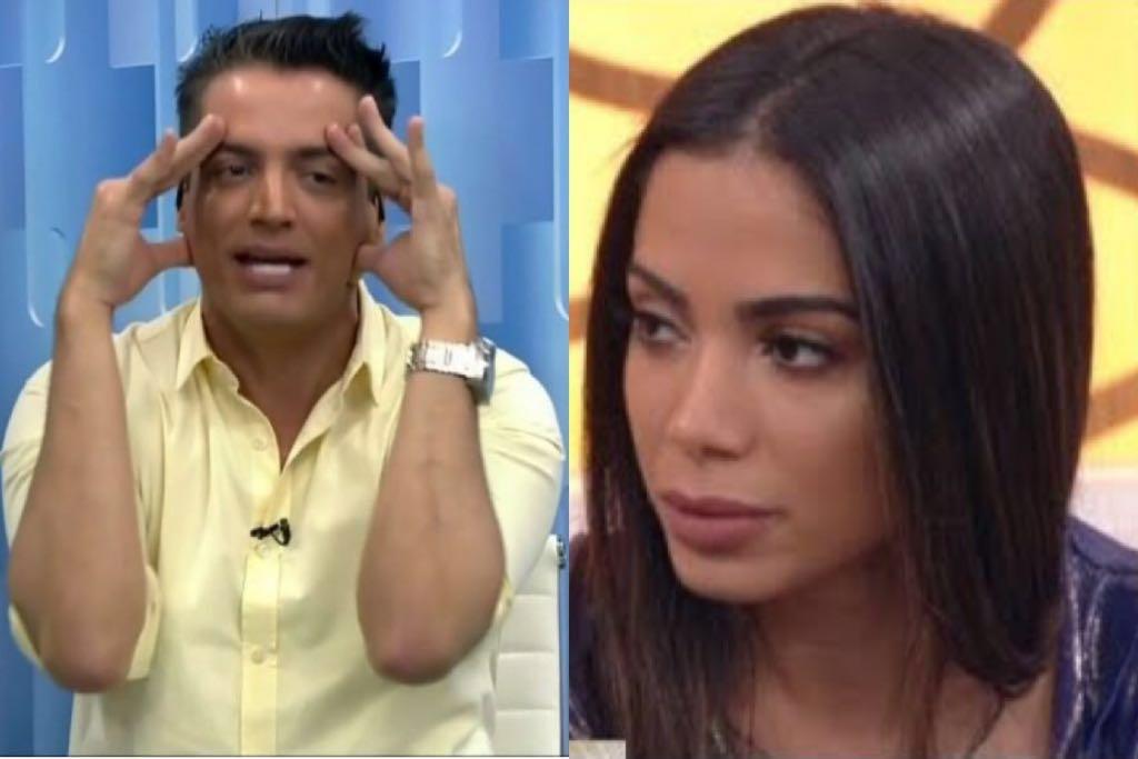Anitta falou sobre as polêmicas com Leo Dias (Foto: Reprodução)