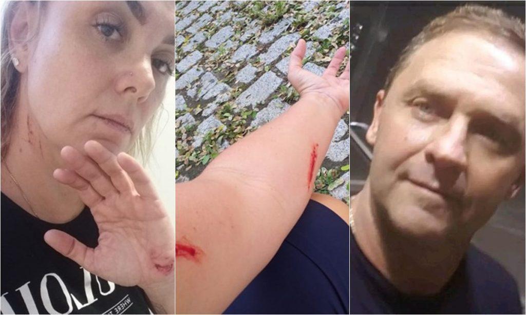 José Roberto Barbosa, ex-marido Ana Paula Pituxita, teria agredido a famosa (Foto: Reprodução)