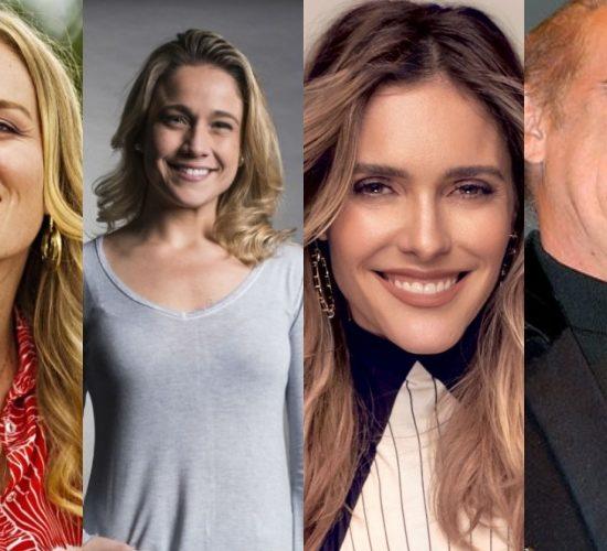 Apresentadores da Globo continuam na geladeira Angélica, Fernanda Gentil, Fernanda Lima, Renato Aragão