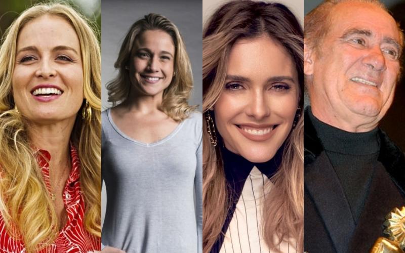 Apresentadores continuam na geladeira Angélica, Fernanda Gentil, Fernanda Lima, Renato Aragão