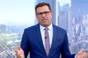 O jornalista da Globo, Rodrigo Bocardi (Foto: Reprodução)