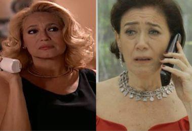 Branca de Por Amor e Valentina de O Sétimo Guardião, da Globo (Foto: Reprodução/Globo)