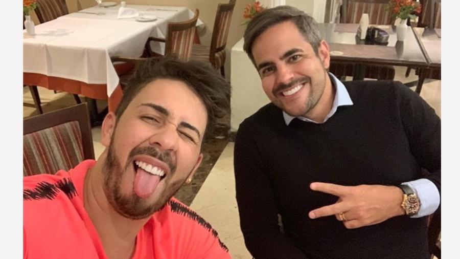 Carlinhos Maia e Kaká Diniz (Foto: Reprodução/Instagram)