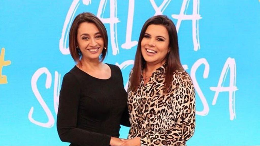 As apresentadoras Catia Fonseca e Mara Maravilha (Foto: Reprodução/ Instagram)