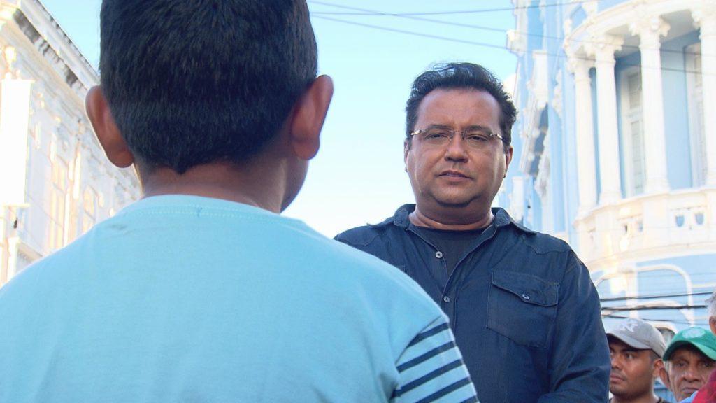 Geraldo Luís mostrou situação de homem de 21 anos preso em um corpo de criança