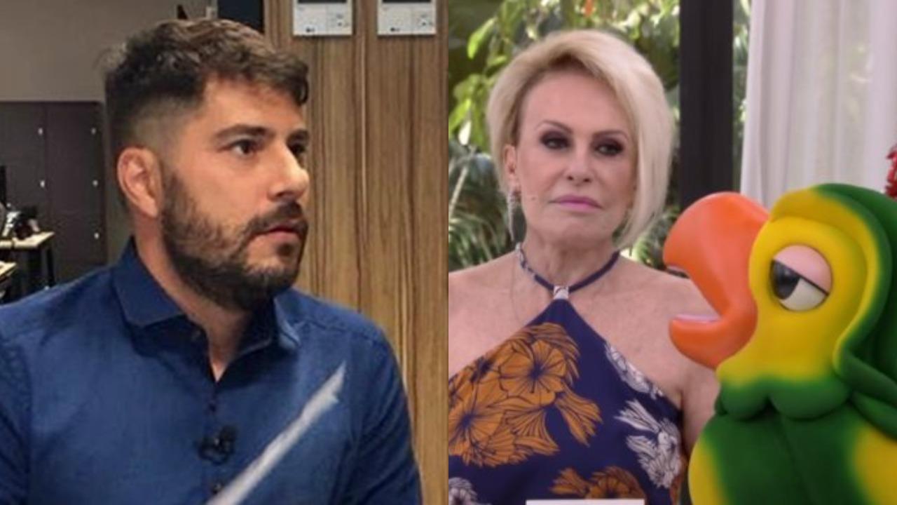 Evaristo Costa, Ana Maria Braga e Louro José (Foto: Montagem/TV Foco)