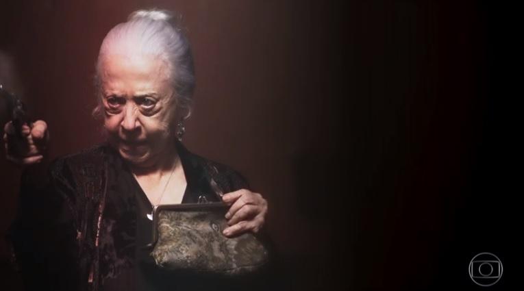 Fernanda Montenegro em A Dona do Pedaço, novela das nove da Globo