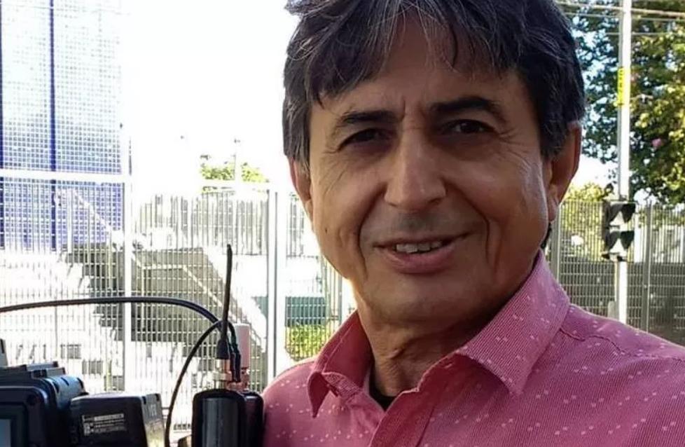 O jornalista Gérson de Souza, que faz parte do Domingo Espetacular, da Record (Foto: Reprodução)
