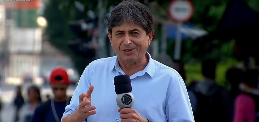 O repórter da Record Gérson de Souza assediou pelo menos 12 mulheres (Foto: Reprodução/Record)