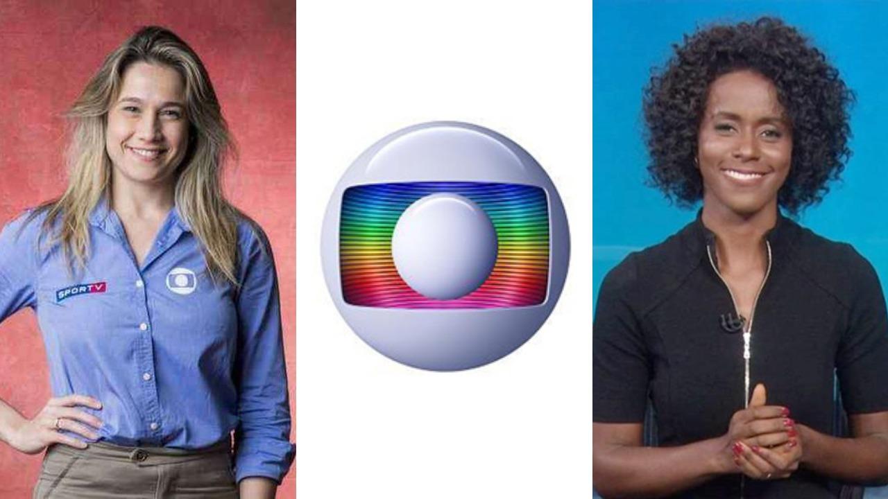 Globo, Maju Coutinho e Fernanda Gentil (Foto: Montagem/TV Foco - Divulgação)