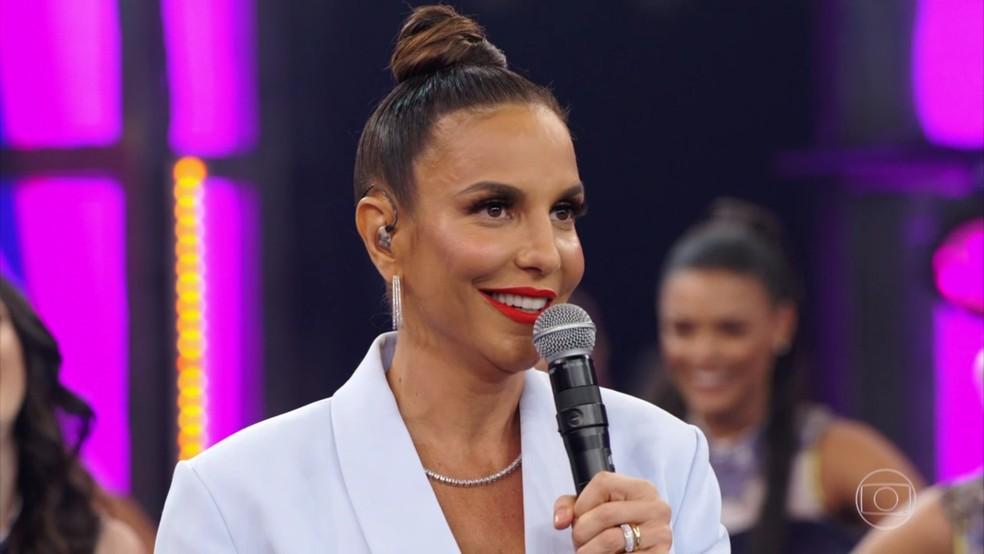 A cantora e apresentadora do The Voice Brasil, da Globo, Ivete Sangalo (Reprodução/TV Globo)