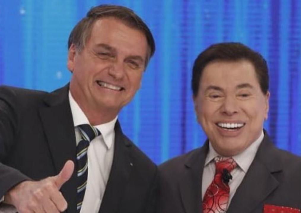 O presidente Jair Bolsonaro ao lado de Silvio Santos (Foto: Reprodução/Instagram)