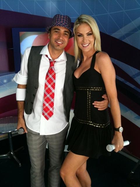 Latino e Ana Hickmann (Foto: Divulgação)