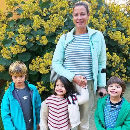 Luana Piovani e os filhos, frutos da relação com Pedro Scooby (Foto: Instagram)