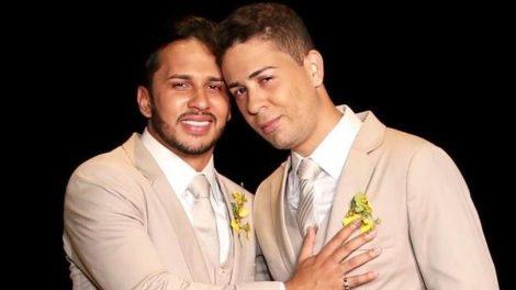 Lucas Guimarães e Carlinhos Maia (Foto: Reprodução - Leo Dias)