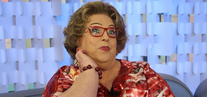 """Mamma Bruschetta é apresentadora do """"Fofocalizando"""" (Foto: Divulgação/SBT)"""