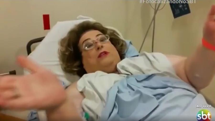 Mamma Bruschetta do Fofocalizando (Foto: Reprodução/SBT)