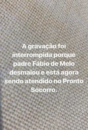 Padre Fábio de Melo sofreu mal súbito (Foto: Divulgação)