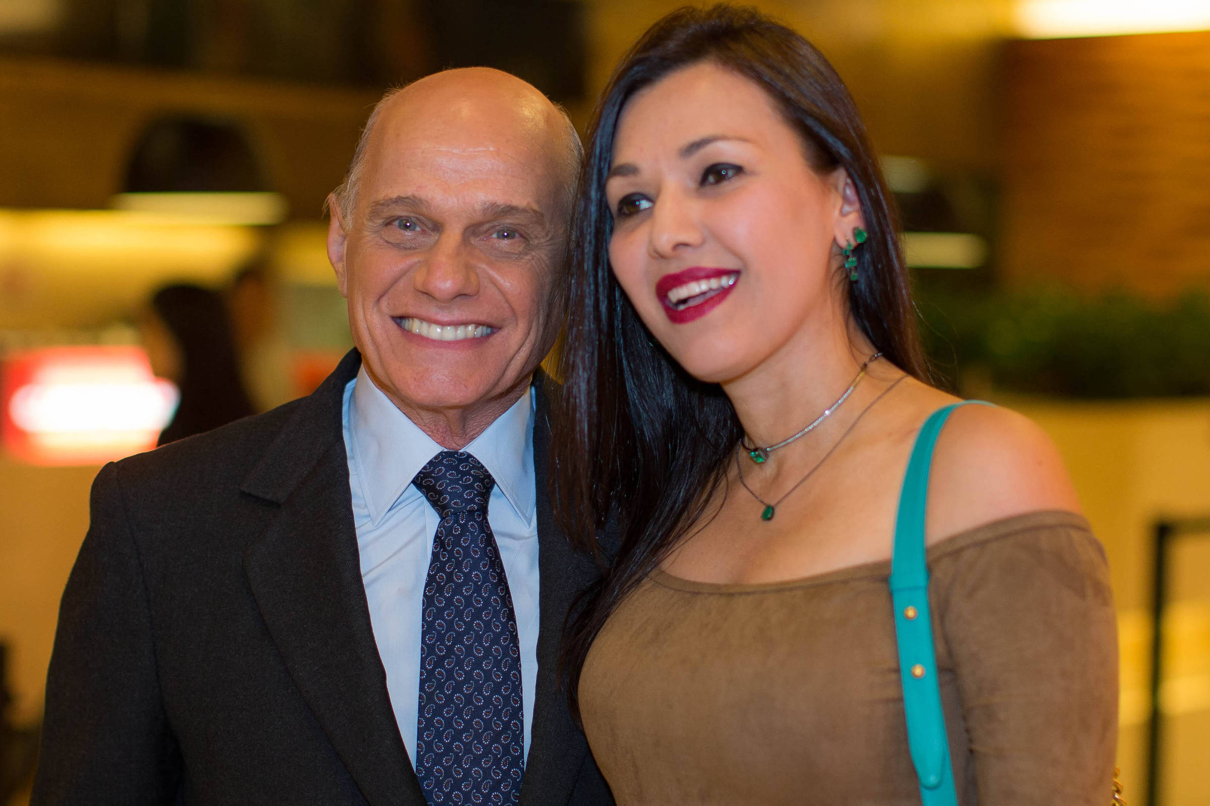 Ricardo Boechat e Veruska Seibel tiveram duas filhas (Foto: Reprodução)