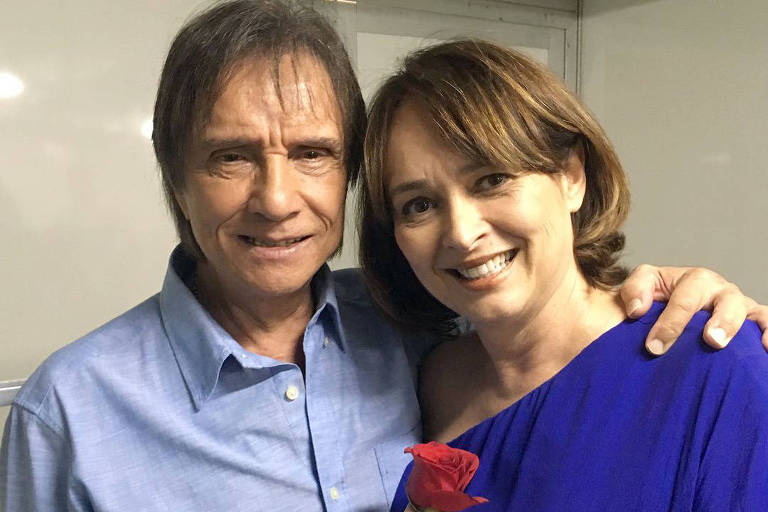 Cantor e sua ex-esposa (Foto: Reprodução)