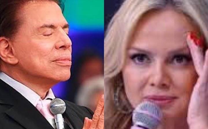 Silvio Santos e Eliana (Foto: Divulgação/SBT)