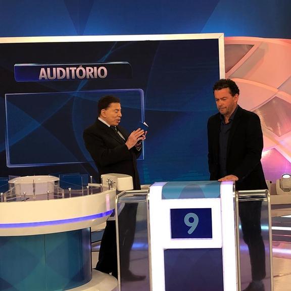 Silvio Santos e Fernando Rocha (Foto: Reprodução)