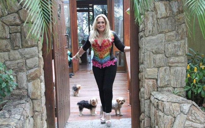 Susana Vieira brigou com vizinho por causa da mansão (Foto: AgNews)