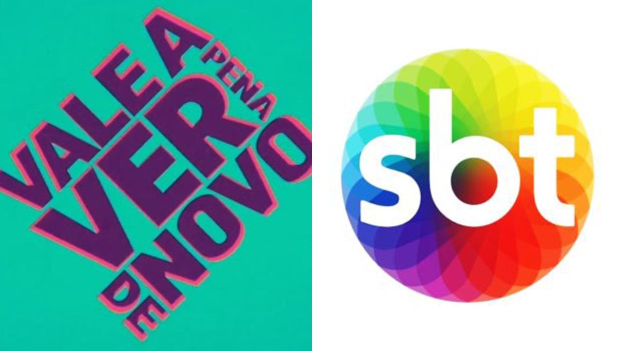 Vale a Pena Ver de Novo da Globo no SBT (Foto: Montagem/TV Foco)