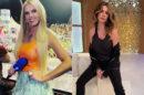 """Luciana Gimenez afirmou que pretende dar um """"hello"""" para Luciana Gimenez, quando a encontrá-la nos bastidores da RedeTV! (Reprodução)"""