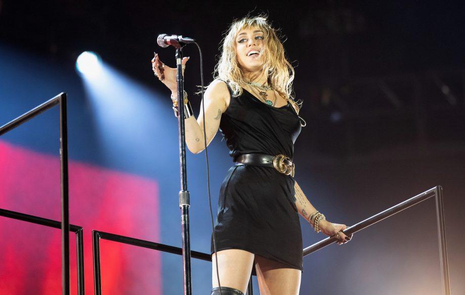Destiny Hope Cyrus, ou seu nome artístico Miley Cirus (Foto: Reprodução)