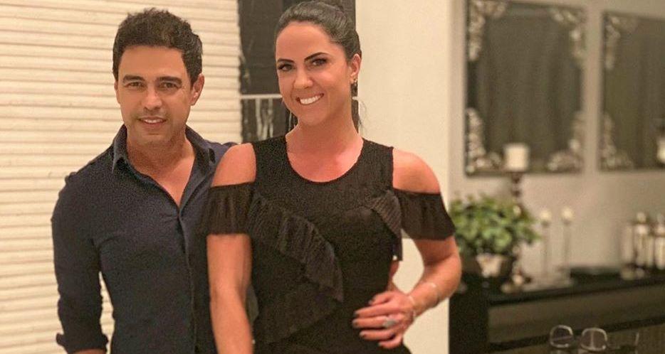 Zezé Di Camargo e Graciele Lacerda (Foto: Reprodução/Instagram)