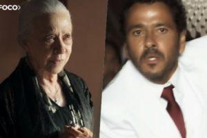 Dulce (Fernanda Montenegro) confessa que tentou matar Amadeu (Marcos Palmeira) em A Dona do Pedaço da Globo