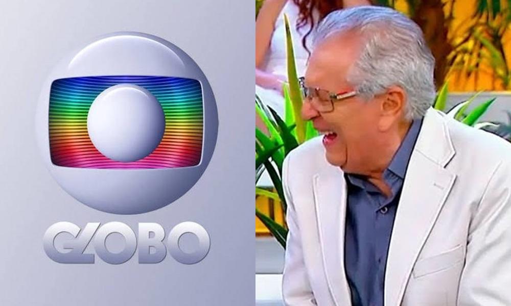 Carlos Alberto de Nóbrega no comando de A Praça é Nossa, que virou estorvo da Globo no ibope (Foto: Reprodução/SBT)