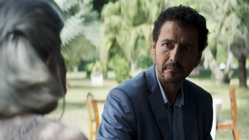 Amadeu (Marcos Palmeira) em cena de A Dona do Pedaço (Foto: Reprodução/Globo)