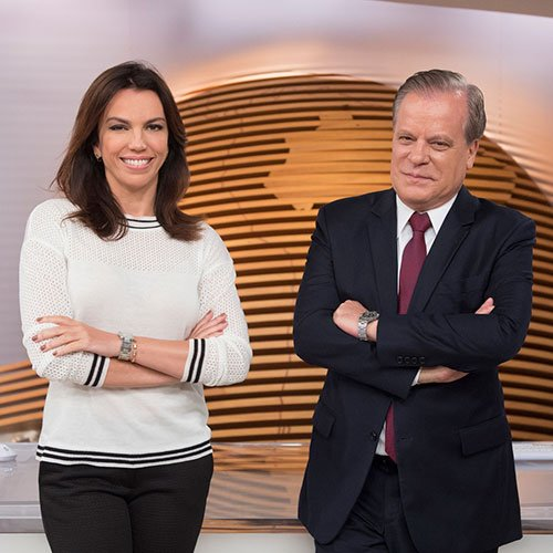 Ana Paula Araújo e Chico Pinheiro globo