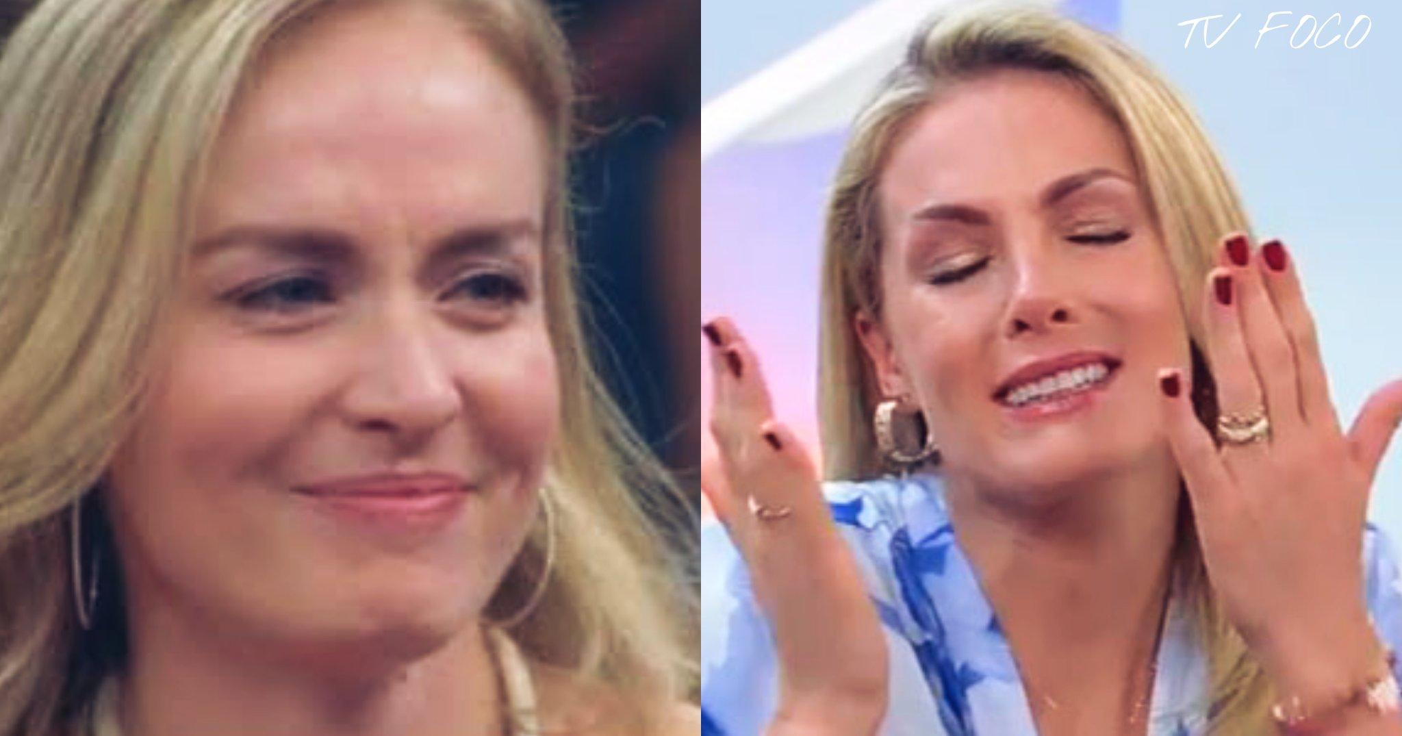 Angélica e Ana Hickmann são grandes apresentadoras da TV
