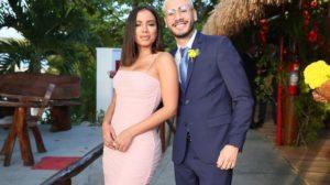 Anitta e Kevinho no casamento de Carlinhos Maia (Foto: Reprodução/Instagram)