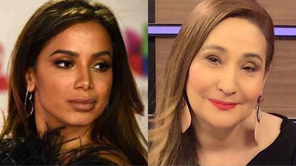 A cantora Anitta e a apresentadora Sonia Abrão são desafetos (Montagem/ TV Foco)