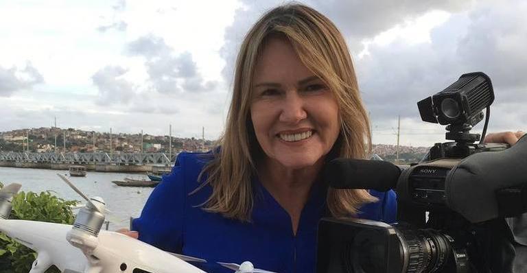A jornalista da Globo, Anna Valéria Colares (Foto: Divulgação)