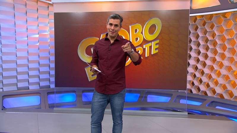 Ivan Moré no Globo Esporte (Foto: Reprodução/Globo)